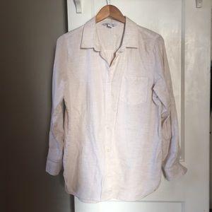 Linen button-up tunic